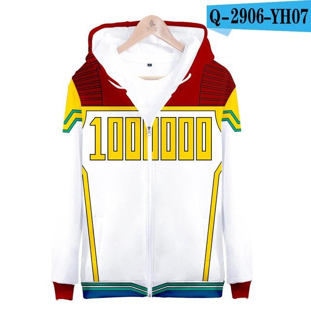 My hero academia hoodies izuku midoriya shouto todoroki boku no hero academia Cosplay Costume Sweatshirt boys girl Zipper Jacket 11