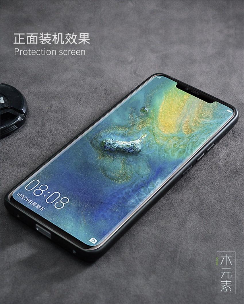 2018 New Huawei Mate 20 Lite Case Slim Wood Back Cover TPU Bumper Case For Huawei Mate 20 Lite Phone Cases Mate20 lite (10)