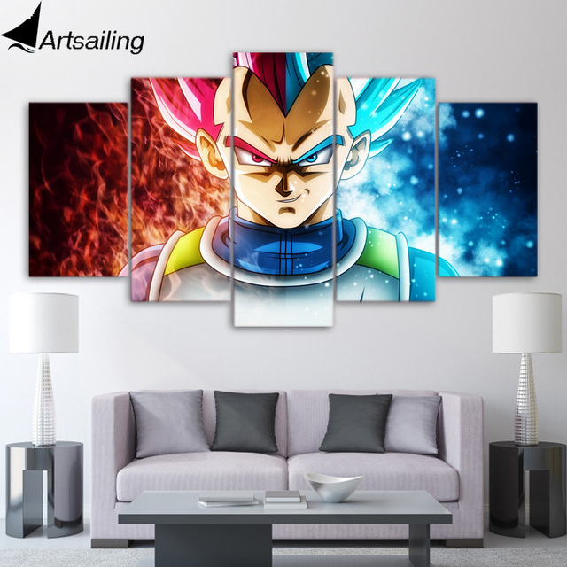 Pice Toile Art Dragon Ball Super Anime Toile Peinture Mur Dcor
