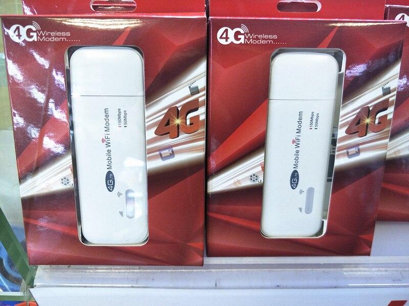 3G/4G Wifi routeur 100Mbp 4G LTE USB Modem Stick carte SIM Mobile Wifi Hotspot 2100 mhz B1 B3