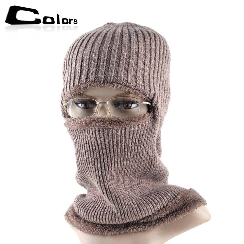 016 Men beanies mask cap winter hats for men skullies boy knitted beanie hat boy warm caps wool bonnet enfant gorro bone
