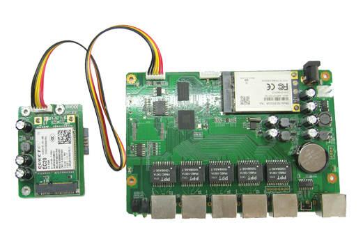 US $69 99 |MT7621A main board Gigabit router enterprise router openwrt  driver SDK data development board module-in Network Cards from Computer &