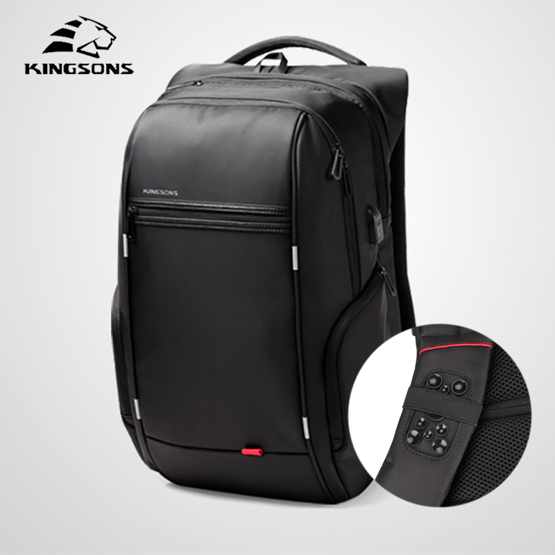 Kingsons Multifunction Man Backpack Anti thief Travel Bag Business Laptop Shoulder Bag For Men Teenage Boy