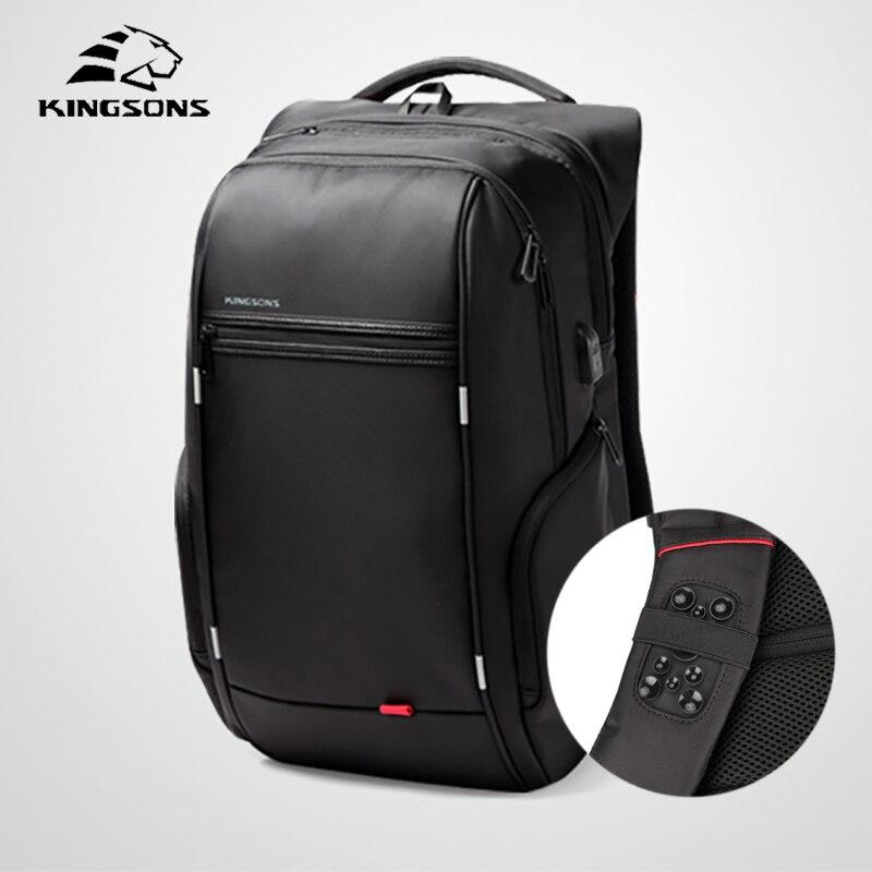 Kingsons Multifunction Business Men Backpack Male Best Travel Anti Thief Laptop Work Men Shoulder Bag Mochila Bagpack