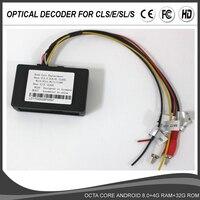 Optical Fiber Decoder / Adapter for Mercedes Benz CLS E S SL SLK CL Class W220 W219 W211 W171 Car Android DVD GPS Player