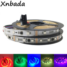 1m 2m 3m 4m 5m TM512AC Led Strip 30/60 Pixels/Leds/m Smart RGB Led Strip Light Tape IP30 IP67 DC12V