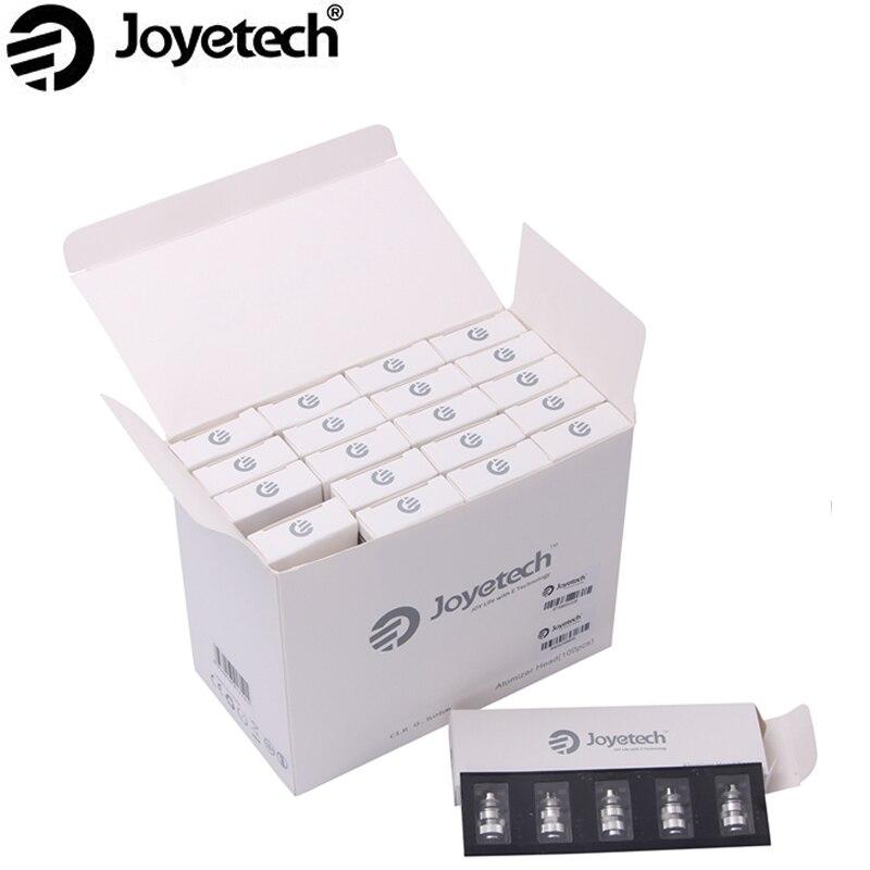 50 stks/partij Originele Joyetech eGo EEN CLR Coils Rebuildable Reuseable 0.5ohm 1.0ohm Heads Voor Ego Een Serie Verstuivers-in Elektronische Sigaretten Atomisatiekernen van Consumentenelektronica op  Groep 1