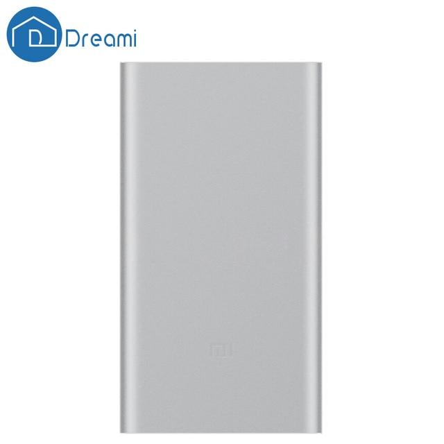 Drea Mi RU склад в исходном Сяо Mi Мощность банк 2 10000 мАч Портативный внешний Батарея быстрая перезарядка для мобильных устройств телефон