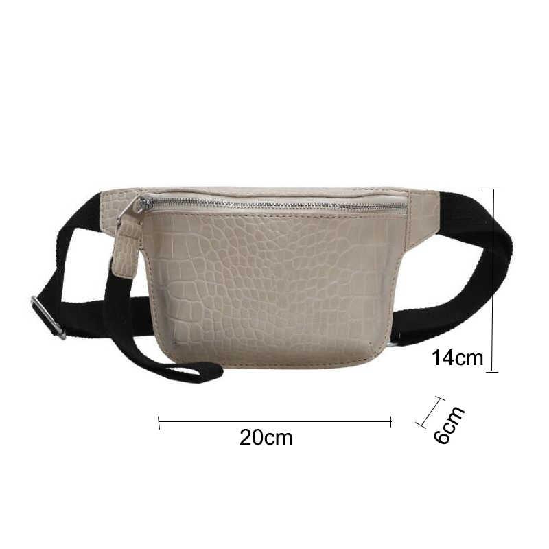 女性バッグワニ多色メッセンジャー胸バッグクラッチ女性の pu レザーハンドバッグクロスボディバッグファッション高品質