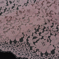 Lace fabric lace eyelash strands locate new lace factory direct high-end European and American style lace