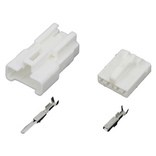 10 sets 4 Pin  DJ7044Y-2.2-21 4-pin four-hole automotive connector with terminal air docking