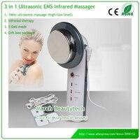 Da cơ thể Massager Vẻ Đẹp Thiết Bị Chăm Sóc Sức Khỏe Siêu Âm Giảm Béo EMS Hàng Chục Miếng Điện Cực Hồng Ngoại Chống Cellulite