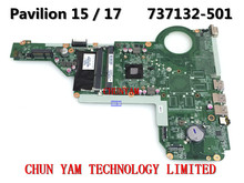 737132-501 FOR HP PAVILION 15 17 15-E 17-E Laptop Motherboard DDA0R76MB6D0 REV:D E1-2500 Mainboard 90Days Warranty 100% tested