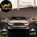 2 шт./компл. Йемен 3D Логотип Любезно Свет Автомобиля Открыть Дверь Добро Пожаловать Свет Лазерной Лампы Проектор Тень Свет Призрак Огни #3310