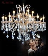 New cognic luxury Modern K9 crystal chandelier Lustres de Cristais ceiling living room pedant ceiling lamp home light fixtures