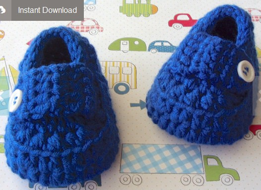 Baby Booties Crochet Pattern Crochet Baby Shoes Baby Boy Shoes
