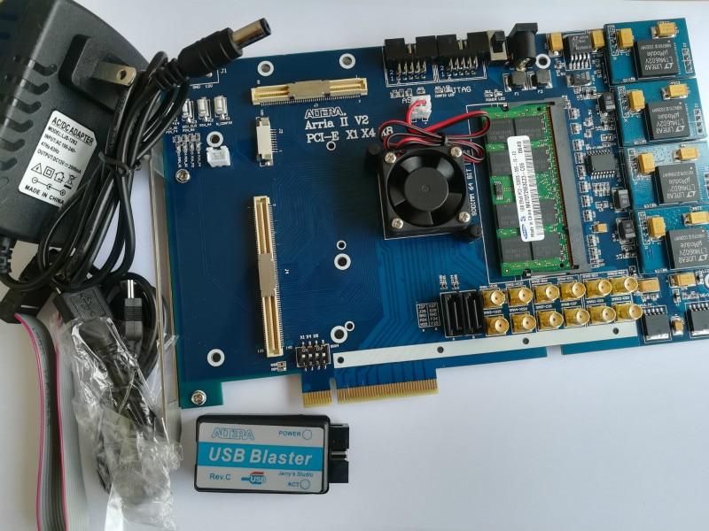 Arria II Arria V Arria 10 PCIe board PCIe X8 fpga board fpga development board altera board intel fpga board e15 altera fpga board altera board fpga development board ep4ce15f17c8n nios ii board sdram usb dc 5v power