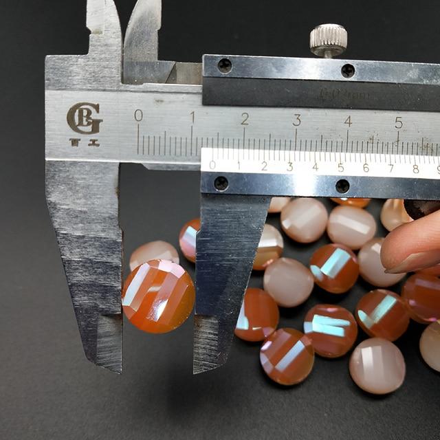 Купить shuangsheng 14*6 мм разноцветные стеклянные кристаллические