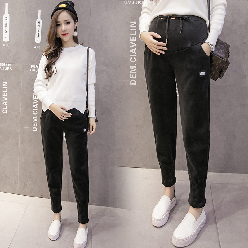 a8042eb65a28f Fashion Maternity Sports Pants Sweatpants Pregnancy Clothes For Pregnant  Women Casual Maternity Clothing Trousers-in Pants & Capris from Mother &  Kids on ...