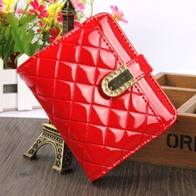 Women's Leather Wallet 2017 New Brand Famous Brand Light Leather Purse Clever Kitte Bag High Quality Coin Purse Black Color brand new black