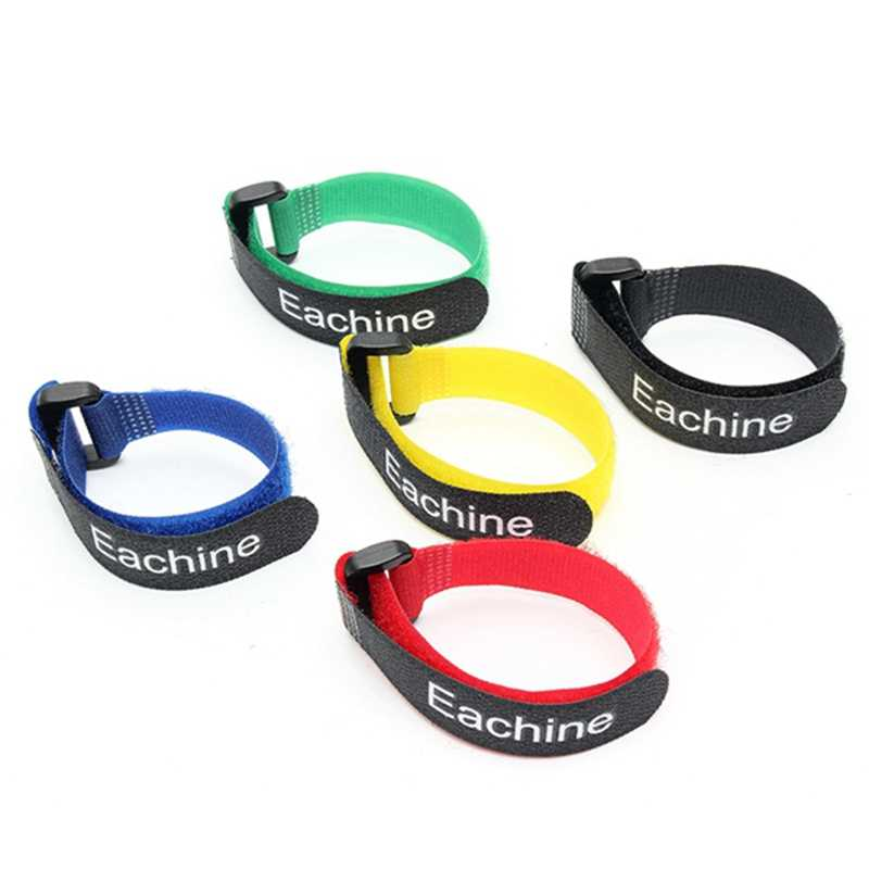 Original 10PCS Eachine Lipo Battery Tie Strong 26*2cm Cable Tie Down Strap Colors For RC Helicopter Quadcopter Model