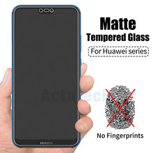 Anti Fingerprints Screen Protector For Huawei P10 Plus Protective Film Matte Frosted Tempered Glass For Huawei P20 Lite P20 Pro protective matte frosted pet screen protector film guard for htc t328d transparent