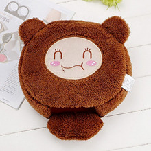 Winter Cute Cartoon Soft Plush USB Heated Mousepad