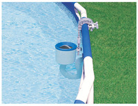 Swimming Pool Surface Skimmer Intex Deluxe Wall Mount Pool Cleaning Vacuum Equipment