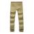 Hee grand 2017 novo lazer dos homens de cor sólida calças retas casuais mistura de algodão de alta qualidade calças mkx795