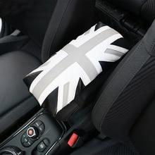 Универсальный кожаный подлокотник коробка коврики салона подлокотник мягкий коврик Защитный чехол для Mini Cooper JCW автомобиля Средства для укладки волос