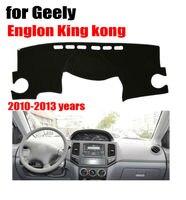 Için araba dashboard mat kapakları Geely king kong 2010-2013 Sol el sürücü dashmat pad dash kapak oto dashboard aksesuarları