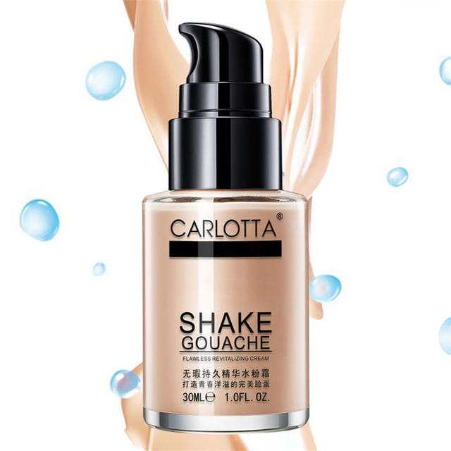 Yi Xiang BB Creme Corretivo Creme Líquido Fundação Creme Hidratante Batom água persistente maquiagem duradoura nua