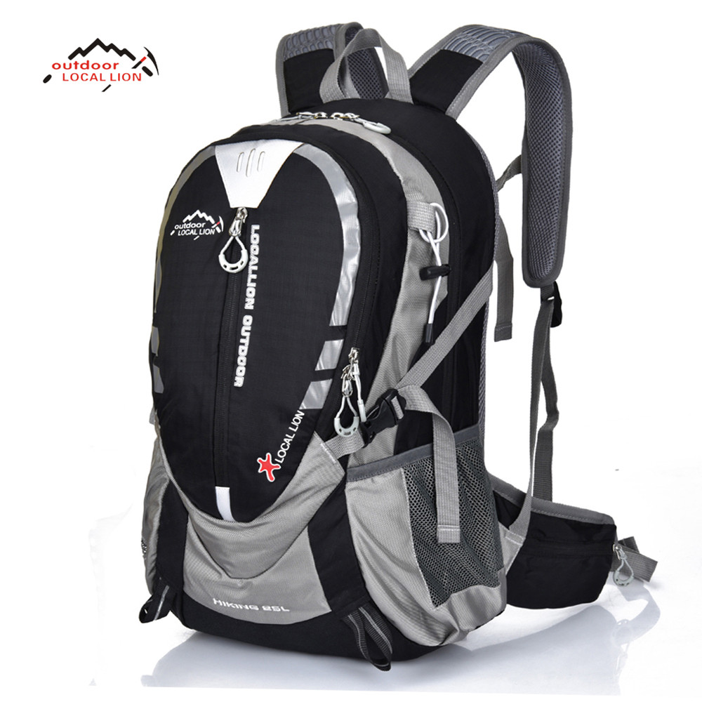 LOCAL LION Professional Outdoor Travel Backpack Mountain Climbing Bicycle Backpack Camping Hiking Bag 25L Cycling Bag local lion outdoor multifunctional travel shoulder bag