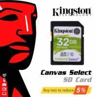 D'origine Kingston SD Carte 128 GB 64 GB 32 GB 16 GB carte mémoire Class10 cartao memoria SDHC SDXC uhs -je HD vidéo carte sd Pour Appareil Photo