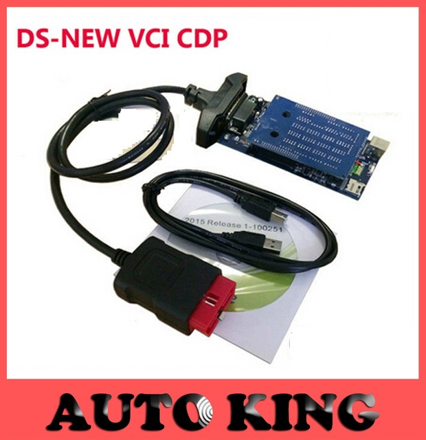 (2pcs) +DHL Free! best new vci obd2 diagnostic scan tool TCS cdp pro plus 2015 R1/2014.2 keygen cd Software for Cars Trucks 3in1
