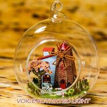 DIY Holz Haus Miniaturas mit Möbel DIY Miniatur Haus Puppenhaus Niederlande Touren Spielzeug für Kinder Geburtstag Geschenk