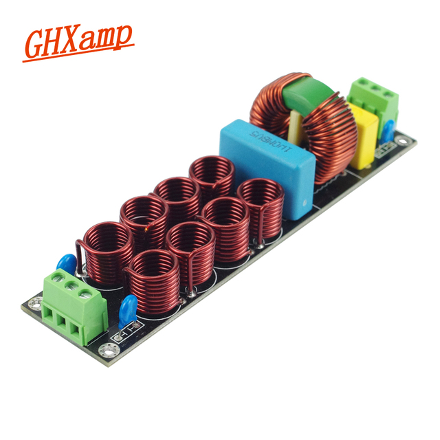 GHXAMP 20A EMI power filter Source filter Line speaker up to 4400W 1.4mm 1pc