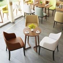 Фабричный деревянный кожаный обеденный стул, домашний садовый комод, барный журнальный столик для отеля, ресторана, обуви, дивана, мебели