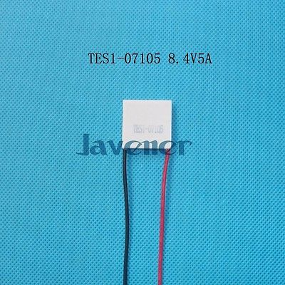 TES1-07105 Heatsink Thermoelectric Cooler Peltier Cooling Plate 23x23mm 8.4V 5A Refrigeration Module
