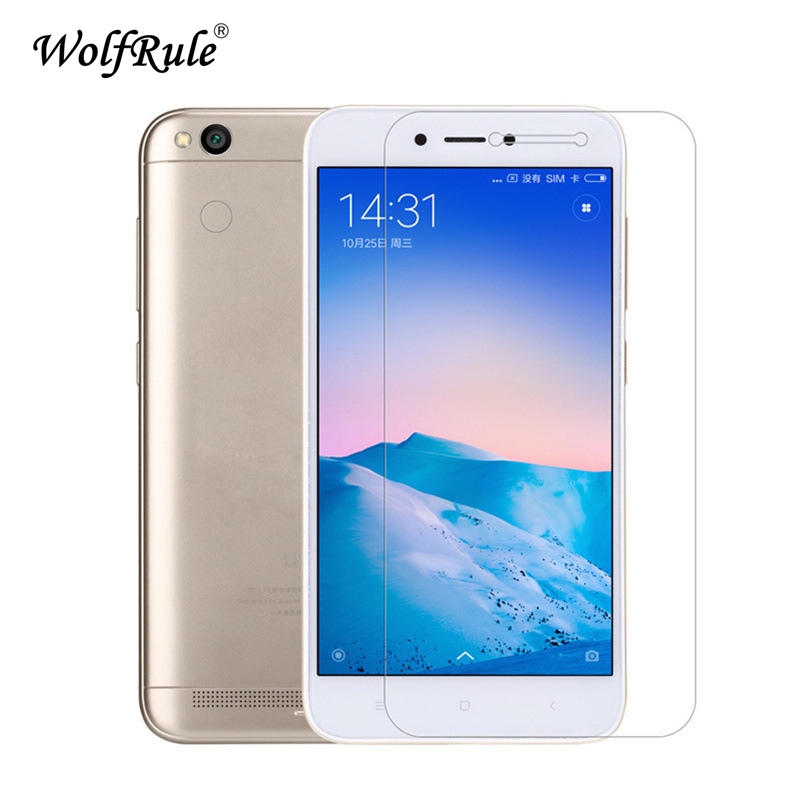 2PCS Glass For Xiaomi Redmi 5A Screen Protector Xiomi Redmi 5A Tempered Glass For Xiaomi Redmi 5A Glass 2.5D Anti scratch Film-in Phone Screen Protectors from Cellphones & Telecommunications