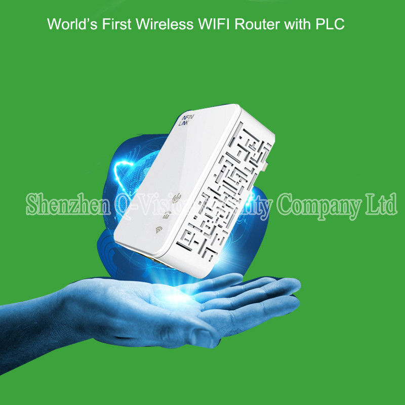 1-UKEUUS Broadlink DNA 200M Wireless WIFI Router Powerline Carrier Extender Wireless Smart Router WIFI Range Extender Automation