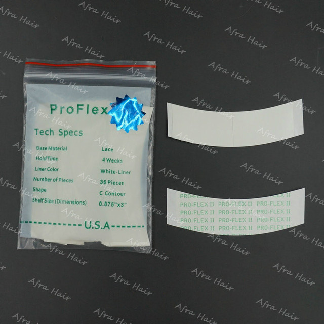 36pcs/lot Proflex Tape White Liner C Contour Green Waterproof Double Sided Medical Tape T026