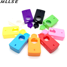 1Pcs Action Camera Accessories xiaoyi 2 Silicone Case Lens Cover Rubber Shell for xiaomi yi II