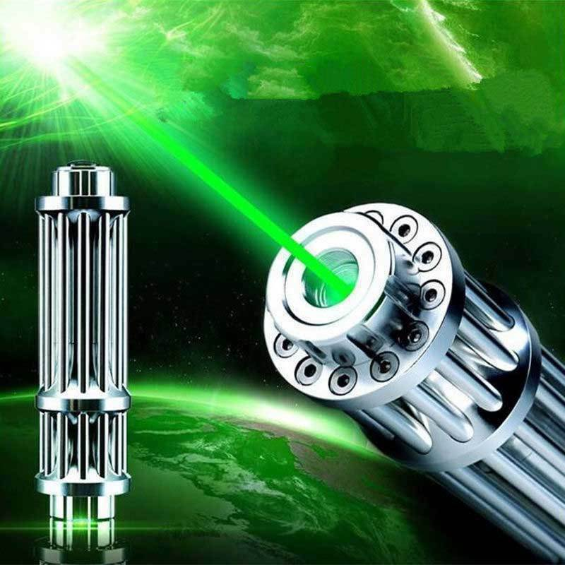 Most Powerful Green Laser Pointer Military 532NM Burning Green Laser Pointer Pen Burning Match, Cigarettes