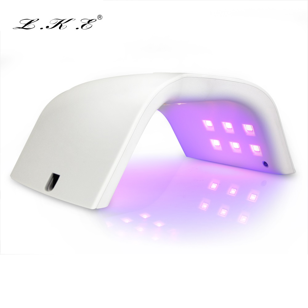 LKE 48W Nail Lamp Curing All Gel Nail Polish 3 Timer Lamp for Nails Salon with Smart Infrared Sensor Makeup Tools Varnish Dryer тональный крем lke 1 fessional leb00337