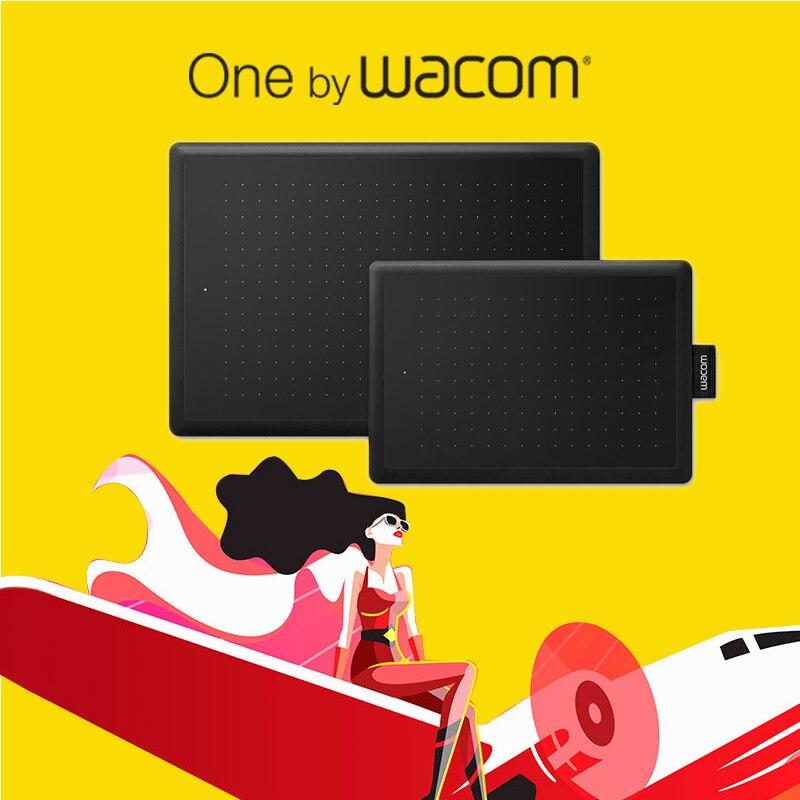Uno por Wacom 672 tableta Digital tabletas gráficas tabletas de dibujo 2048 niveles de presión + 1 año de garantía