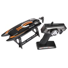 Shuang Ma 7014 2.4GHz 3CH Electric RC Waterproof Racing Boat With Display Rack RTR Version Remote Patrol Boats