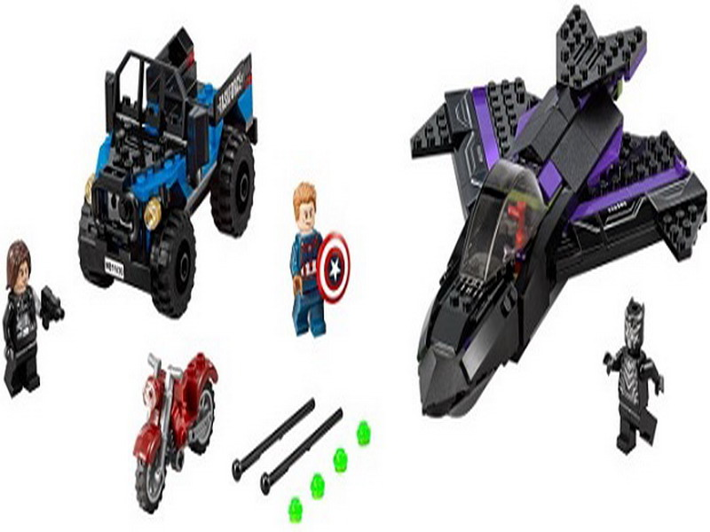 7122 Batman Chariot Super Heroes Black Panther Pursuit Superman Model Building Blocks Figure Toys For Children Compatible Legoe decool 7118 batman chariot super heroes of justice building block 518pcs diy educational toys for children compatible legoe