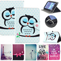 """Universal Folio Various pattern PU Leather Stand Case Cover for 10'' 10.1"""" Tablet funda para tablet 10.1 universal"""