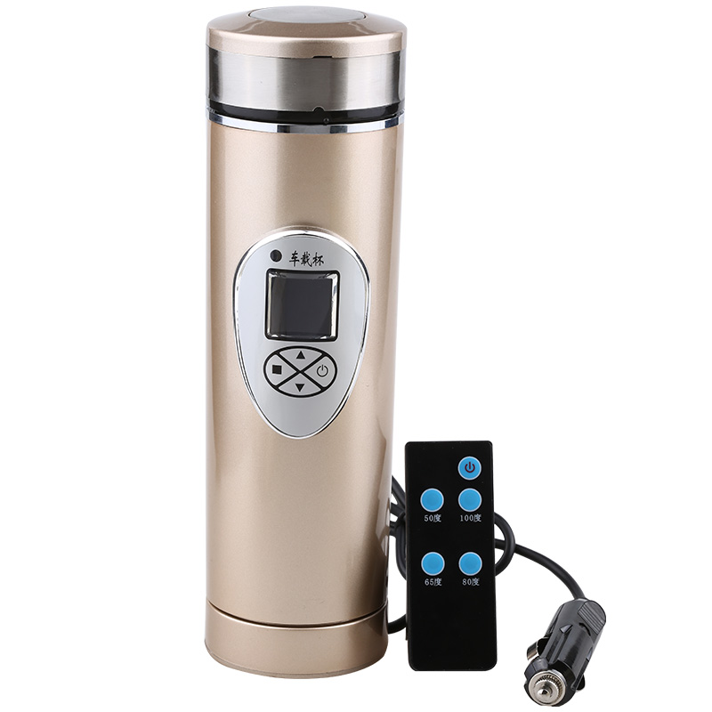 Intelligent Car Home Dual Use Electric Kettle Stainless Steel Heat Preservation Water Cup Boiling Water Controlled By Remote salter air fryer home high capacity multifunction no smoke chicken wings fries machine intelligent electric fryer